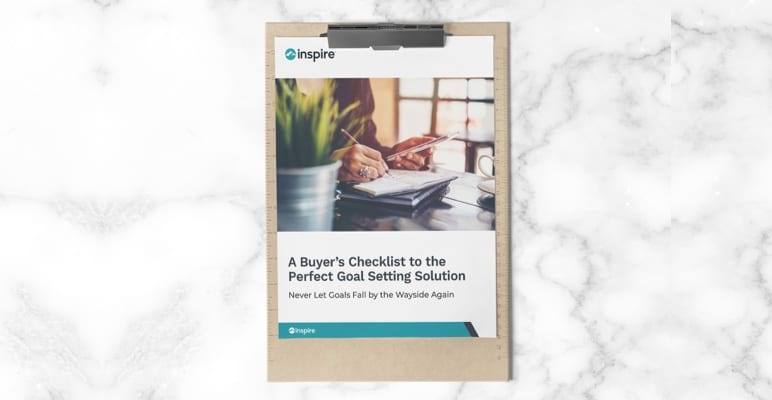 Goal setting buyer's checklist