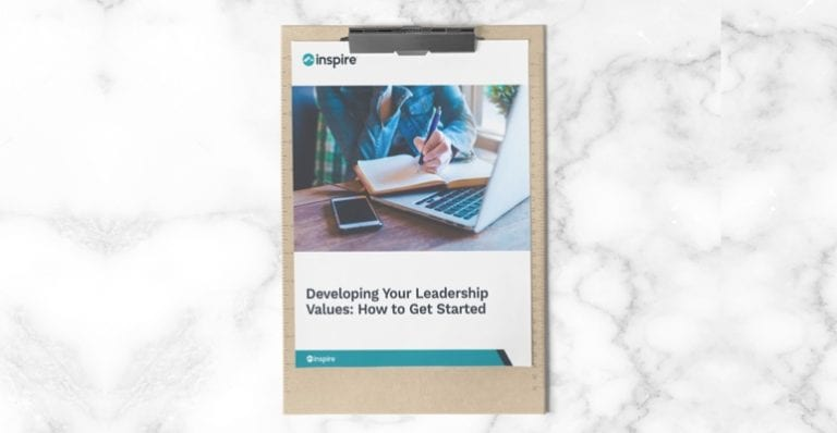 How to develop your leadership values