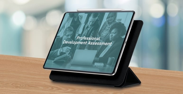 Professional development assessment