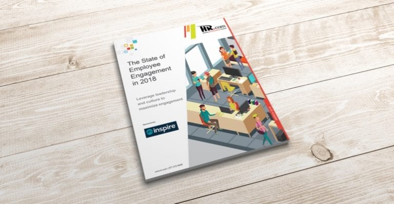2018 state of employee engagement